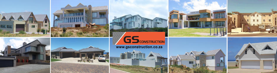 Building contractor projects by GS Construction Company Mosselbay Western Cape