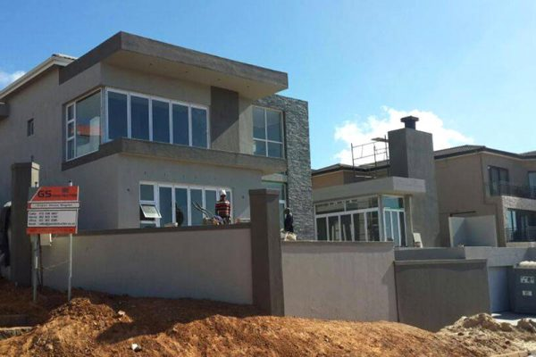 Residential construction by building contractor GS Construction Mossel Bay Western Cape