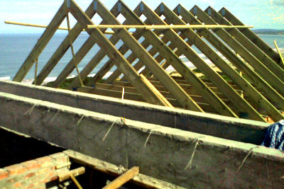Contracting services - roof construction contractor by GS Construction Mossel Bay Western Cape