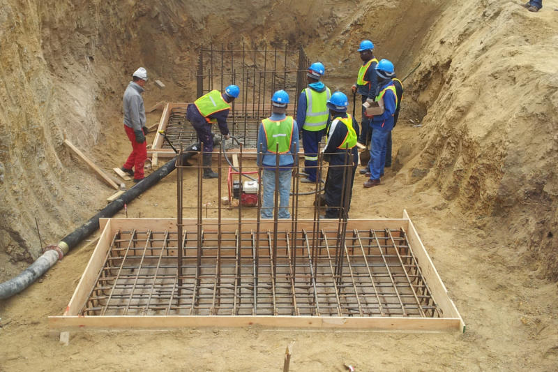 General civil construction specifically pipeline construction by GS Construction Mossel Bay Western Cape