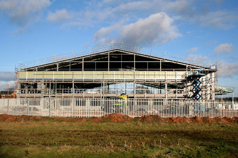 Industrial Construction - factory construction by GS Construction Mossel Bay Western Cape